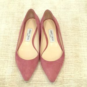 Jimmy Choo Rose Suede flat